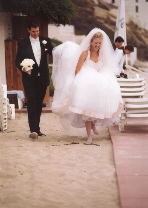Jane Garapick wedding photo.